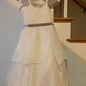 Rose Bud Style 5132 flower girl dress- worn once